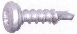 Kentekenplaatschroef met boorpunt 5,0X16 mm (250 stuks) - AM50-16-B