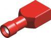 Kabelschoen 1541 vrouw rood 6,3 mm geïsoleerd (50 stuks) - SC1663R