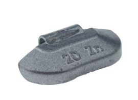 Wielgewicht universeel staal 20 gram, (100 stuks) - STV20