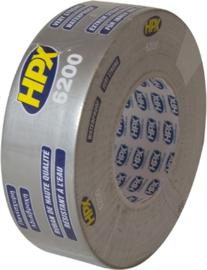 Hpx duct tape zwart, 50 mm x 50 m - CS5050