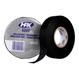 Hpx isolatie tape zwart, 19 mm x 10 m (10 stuks) - IB1910