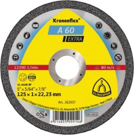 Klingspor doorslijpschijf 115 x 1,0 x 22,2 mm, (25 stuks) - 262936
