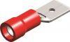 Kabelschoen 540 man rood 6,3 mm (50 stuks) - SC1763R