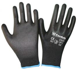 Cardok werkhandschoenen zwart,  - CA0243