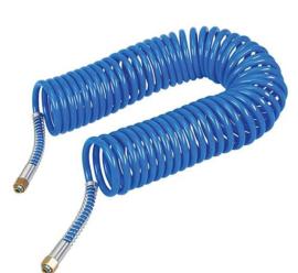 Spiraalluchtslang blauw 10 meter - CA00999