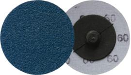 Klingspor Roloc schuurschijf 50 mm, korrel 36, (100 stuks) - 295306