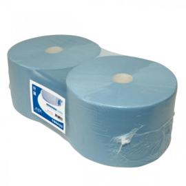 Blauw papier 400 meter x 37cm, 3 laags - CA53460