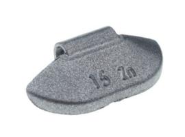 Wielgewicht universeel staal 15 gram, (100 stuks) - STV15