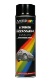 Motip bitumen spray zwart 500ml - 000007