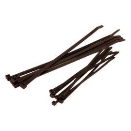 Bundelband zwart 3,6X200 (100 stuks) - SC20036