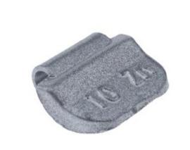 Wielgewicht universeel staal 10 gram, (100 stuks) - STV10