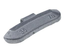 Wielgewicht universeel staal 35 gram, (50 stuks) - STV35