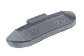Wielgewicht universeel staal 30 gram, (100 stuks) - STV30