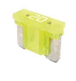 Steekzekering mini low profile 20A (10 stuks) - SFLP7020