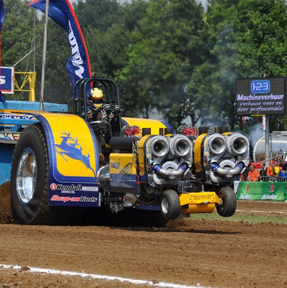Dubble D tractor pulling