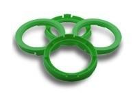 Centreerringen set 82,0-70,1 signaal groen, HM820701RON
