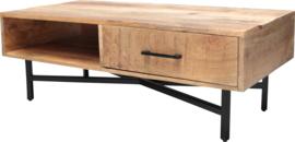 QUINN TV meubel Mango & Metal 115x55 breed   42 hoog