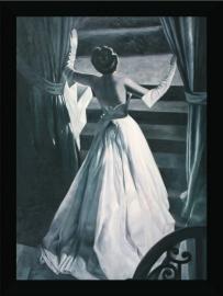 LADY WHITE  schilderij