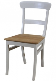 Chair BULAN White & Teak