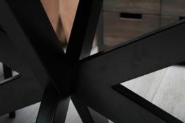 CHICORY Eettafel Ovaal Kruispoot 200 x 100 cm.