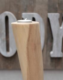 CURVY XXL Kaarsenstandaard set van 3 | 150 cm hoog
