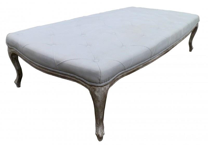 PALAMINIO gecapitonneerde salontafel  Ice Blue 170x90