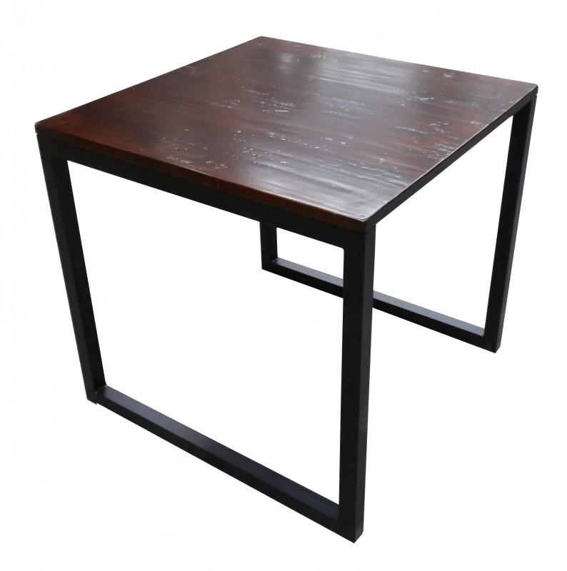 Vierkante Eettafel 80 X 80.Houten Eettafels Van Mijnwoonshop Ruime Keuze En Goedkoop