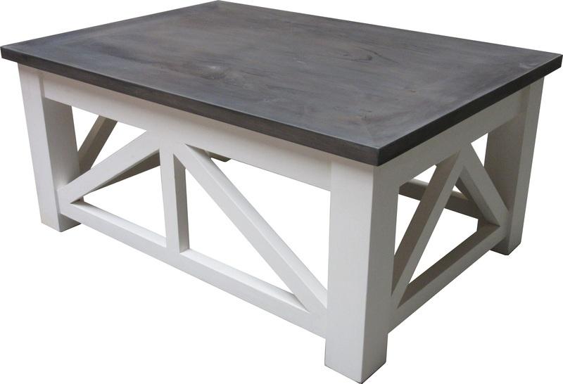 DEX salontafel White & Grey