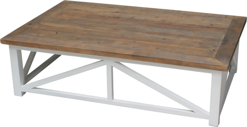 JOHN Salontafel  Extra Groot 140 x 90 of 160 x 100