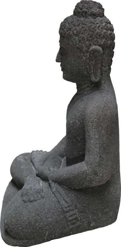 Boedha Beeld Lava 50 cm / 34 kg.