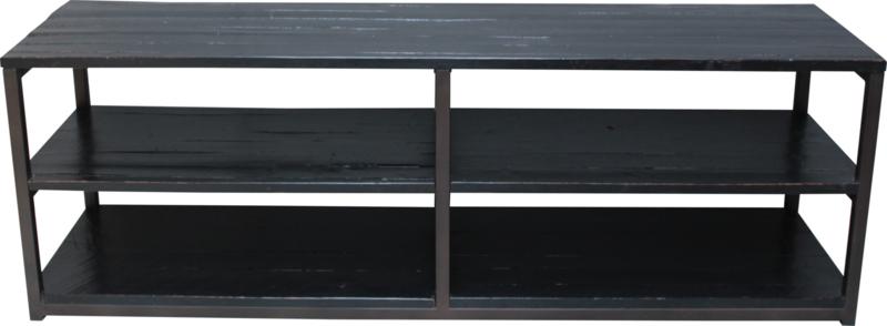 ISHA Open TV / Wandkast  180 cm. | Industrieel
