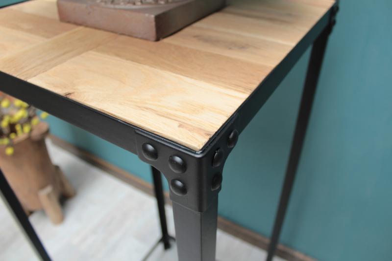Vierkante Hoge Eettafel.Jack Plantentafel 120 Cm Hoge Vierkante Tafel Industrial