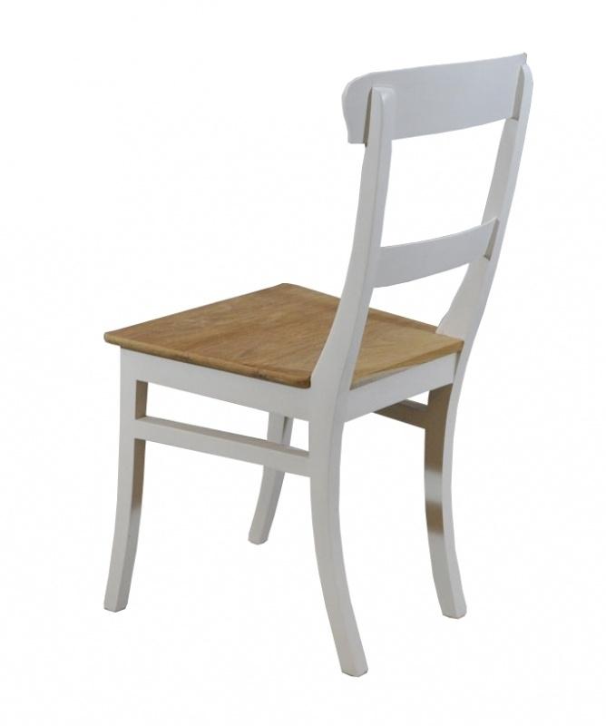 Chair BULAN White & Teak