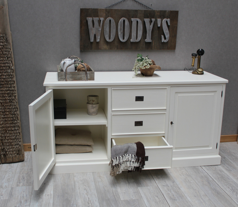 LONDON Dressoir  White 180 cm.