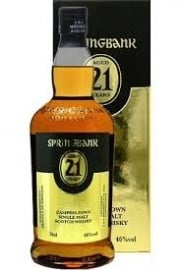Springbank 21 yo, bottled 2012