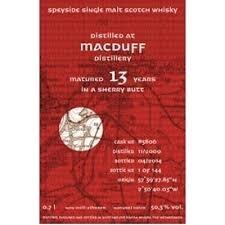 Kintra Macduff 13 yo Sherry Butt