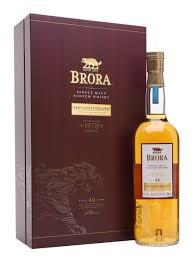 Brora 1978 200th anniversary 40 yo