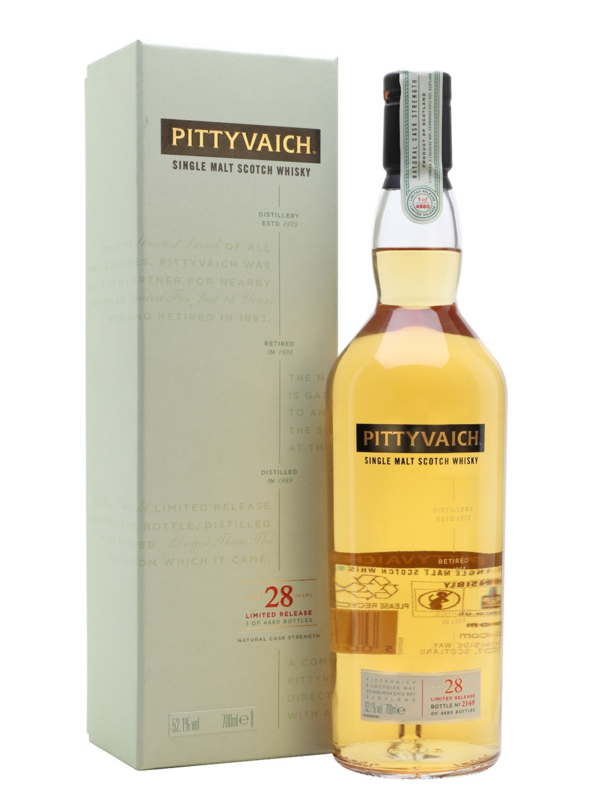 Pittyvaich 28 years old Special Release 2018 Diageo