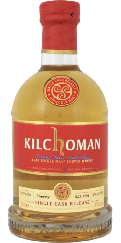 Kilchoman Single Sherry Cask Release for WIN