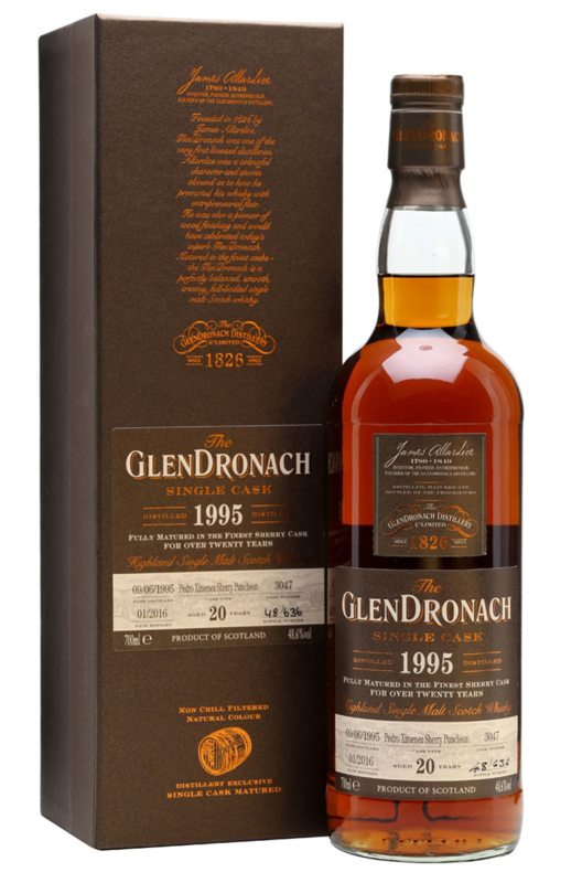 Glendronach 1995 Single Cask 3047 20 yo Batch 13