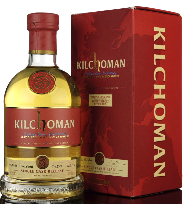 Kilchoman first 5 yo Single Cask for WIN