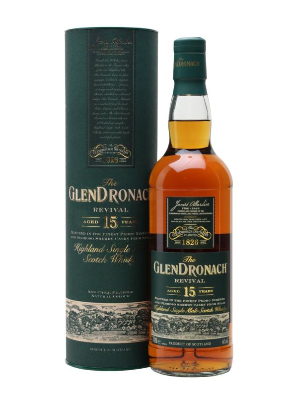 Glendronach Revival 15 yo new 2018 release