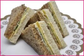 Mini Sandwiches Oudekaas (Biologisch) 2 stuks