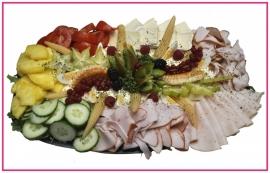 Kip salade per persoon