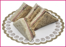 Mini Sandwiches Roompaté per 2 stuks