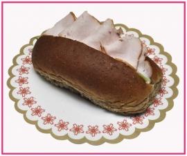 Broodje met Gerookte Kalkoen.