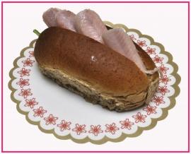 Broodje met Gerookte Paling (Duurzaam)