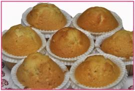Vanille muffin  per stuk