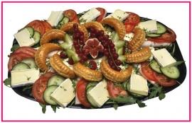Afschep Kip Salade per persoon.