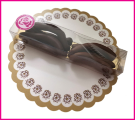 Chocolade Sinas schillen (100 gram)